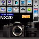 Sri Lanka Classifieds Samsung NX 20 DSLR Camera