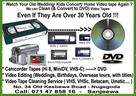 Sri Lanka Classifieds Video Tapes to DVD Tape Cleaning VHS Hi8 MiniDV