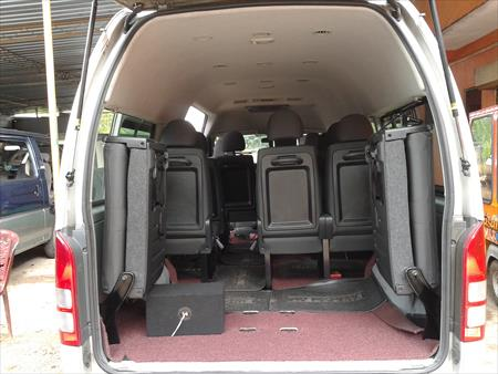 Kdh High Roof Van For Hire Automobiles Rent A Car